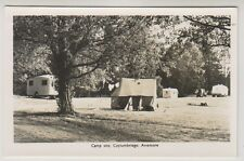 Inverness-shire postcard - Camp Site, Colyumbridge, Aviemore - RP