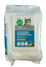 Brand New Gnc Pets Multi-purpose Deodorizing Grooming Wipes, Citrus Wipes 100 ct