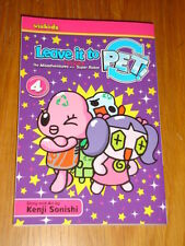 LEAVE IT TO PET! MISADVENTURES OF A RECYCLED SUPER ROBOT VOL 4 MANGA GN <