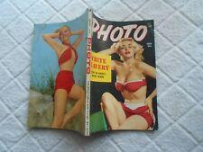 PHOTO PINUP POCKET  Magazine-JANUARY,1954