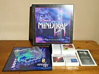 The Ultimate Mind Trap Board Game - Box Opened Contents New & Sealed (2001)