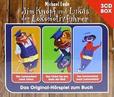 3 CDs * JIM KNOPF UND LUKAS DER LOKOMOTIVFÜHRER  3-CD-BOX # NEU OVP !