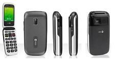 DORO PHONE EASY 612-611 BLACK GREY EASY TO USE CAMERA UNLOCKED