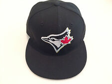 Toronto Blue Jays Custom New Era Cap Hat 7 1/8 59fifty Baseball Black THE SIX