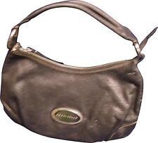 USED Ladies Coccinelle Designer Black Leather Handbag 35cm X 20cm (P.K)