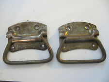 Vintage Rustic Aged Rusted Trunk Handles