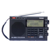 TECSUN PL-600 AM FM Stereo Radio Clock MW SW LW SSB Digital Display Receiver