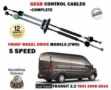 FOR FORD TRANSIT 5 SPEED FWD 2.2DT TDCI 2006-2014 NEW GEAR CONTROL CABLE 1693992