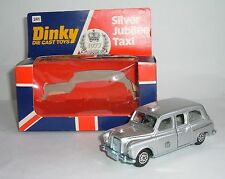 Dinky Toys No. 241, Silver Jubilee London Taxi, - Superb