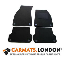 Audi A4 Avant Estate 2006 - 2008 Tailored Car Floor Mats Fitted Set in Black