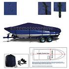 Baja Marine 232 Performance Trailerable Boat Cover Navy