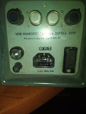 GEFELL NEUMANN RFT N962 VINTAGE POWER SUPPLY FOR MV691 MV692 PM750 PM860 UM70