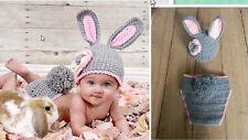 Newborn Baby Girl Boy Crochet Knit Costume Photo Photography Prop Hats Outfits89