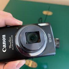 Canon PowerShot ELPH 340 HS 16.0MP Digital Camera Black