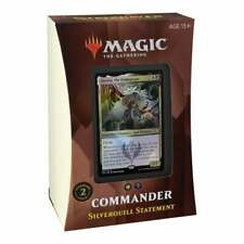 MAGIC THE GATHERING Strixhaven School of Mages Commander Silverquill Statement