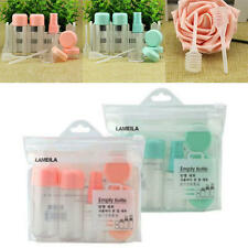 8Pcs/Set Travel Kit Empty Lotion Cosmetic Makeup Case Container Spray Bottle Pot