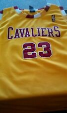 LEBRON JAMES NBA AUTHENTIC CLEVELAND CAVALIERS JERSEY AUTOGRAPHED