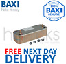 Baxi Platinum 24 28 33 40HE DHW 20 Plate Heat Exchanger 7223558 Genuine Part NEW