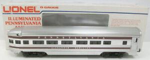 """Lionel 6-9574 Pennsylvania """"Alexander Hamilton"""" Aluminum Observation Car LN/Box"""