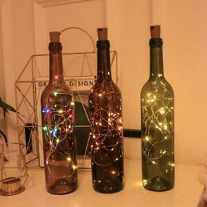 1m, 2m or 3m Copper Wire LED String Light Bottle Stopper | Ideal Gift