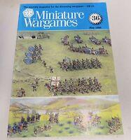 Miniature Wargames Number 36, May 1986 oop SC