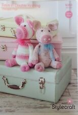 Stylecraft Pattern 9353 Crocheted Squiggly Pigs Toys in DK