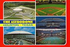 HOUSTON ASTRODOME STADIUM POSTCARD - 5 VIEWS