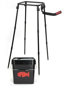 Fox SPOMB Single Bucket stand kit - with Spomb Bucket