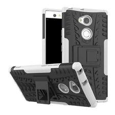 Carcasa híbrida 2 piezas EXTERIOR BLANCO Funda para Sony Xperia XA2 Cubierta
