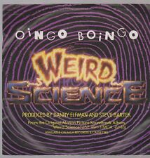 "7"" Oingo Boingo Weird Sciene / Ira And The Geeks Weird Mama 80`s MCA"