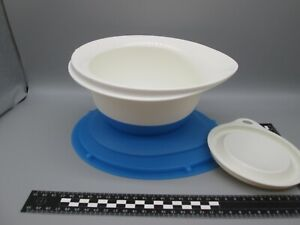 Tupperware Combi Plus Rührschüssel 1,5 L blau  m. gummierter Unterseite