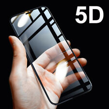 5D Full Coverage Tempered Glass Screen Protector For Apple iPhone X , 10 Best.