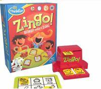 NEW ThinkFun Bingo with a Zing Board Game (97700)