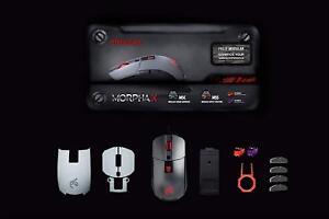 EpicGear EGMMX1-BGDAA MORPHA X Gaming Mouse, Modular dual sensor 12000dpi