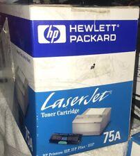 Hewlett Packard Laserjet Toner Cartridge 92275 A Toner 75 A Laserjet Printers