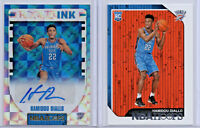 2018 -19 Panini NBA Hoops Hamidou Diallo Rookie Ink Autograph & base lot OKC RC