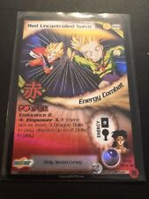 Dragon Ball Z GT CCG Red Uncontrolled Salvo M28!! Broly Second Coming Promo!!