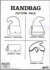 Tandy Leather Handbag Pattern Pack – Templates for 4 Handbags – Item #6033-00.
