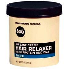 STIRAGGIO PER CAPELLI HAIR RELAXER TCB WITH PROTEIN & DNA 425 G 15 OZ SUPER