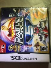 Hot Wheels: Battle Force 5 NDS New Nintendo DS Brand New Factory Sealed