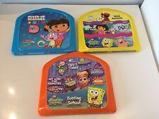 Fisher-Price Interac TV DVD Lot Dora SpongeBob Sesame Street Neutron