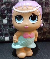 Squishy Merbaby Pink Girls Doll Scented Slow Rising Girl Lol Dolls Toys UK 14cm