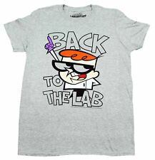 DEXTERS LABORATORY CARTOON NETWORK BACK TO THE LAB T-SHIRT RETRO MENS TEE NEW