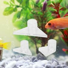 3PCS Acrylic Triangle Duckbill Nozzle Aquarium Water Pipe Outlet Fish Tank