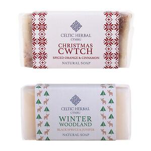 Celtic Herbal Christmas Soap Multipack (2 Bars x 100g) | Ideal Stocking Fillers!