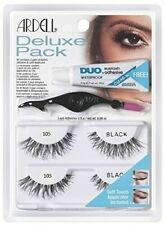 Ardell Deluxe Pack 105 with Applicator #68987 Black Two Pair
