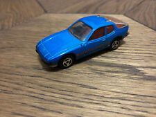 Majorette Porsche 924 Blue No247 France Diecast Scale Model 1/60