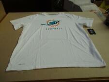 Miami Dolphins Men's Nike DRI FIT NFL Logo Elite T-Shirt White NEW