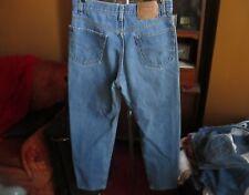 32x32 Actual  FIT True Vtg 80s Levis 550 Stonewash Realxed Fit Denim Jeans USA