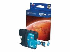 Genuine Brother LC-1100HY Cyan Ink Cartridge LC1100HYC